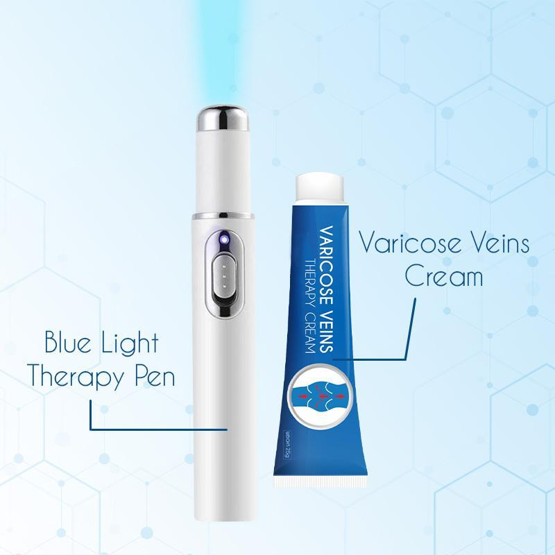 Varicose Veins Blue Light Therapy Set Skin starryhome