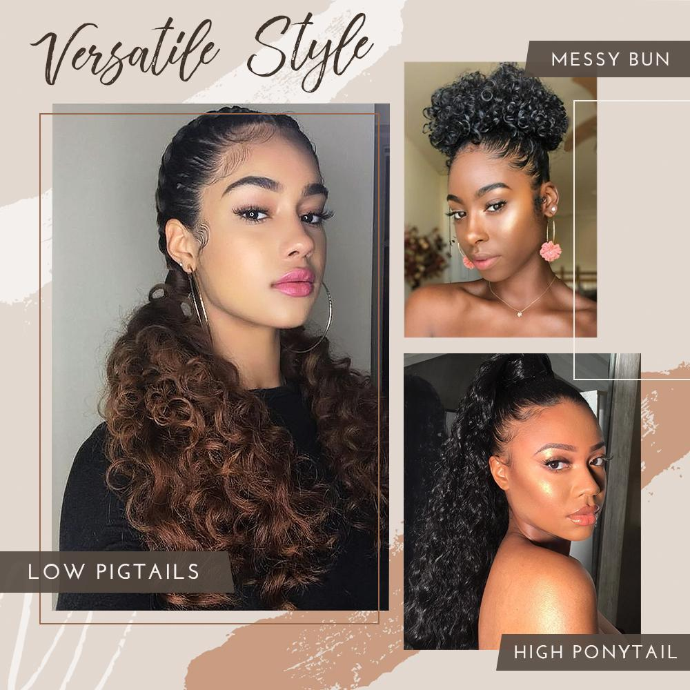 Voluminous Wavy Ponytail Extension Hair starryhome