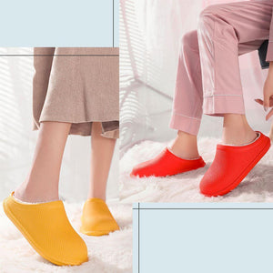WarmHome Waterproof Fleece Slippers Footwear MadameFlora