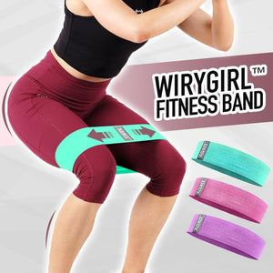 WiryGirl™ 3 Levels Fitness Band Wellness BayfairConcept Green (Low)