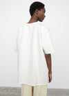 Heavy oversized tee white