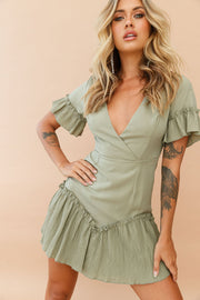 Follow My Heart Dress // Olive