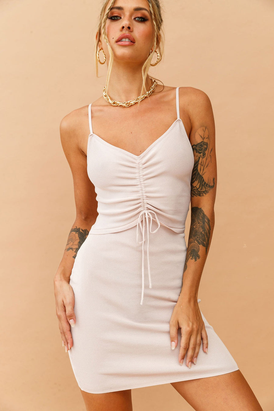 Azalea Dress // Nude