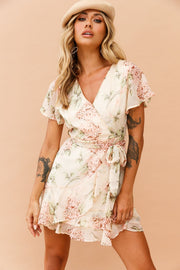 Fairytale Living Dress // Beige Floral