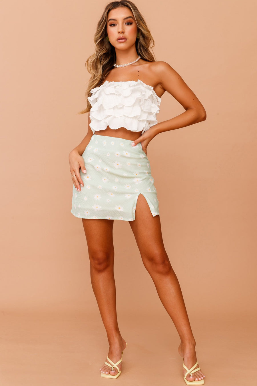Ruffled Up Tube Top // White | Sage and Paige.?id=25072210542761