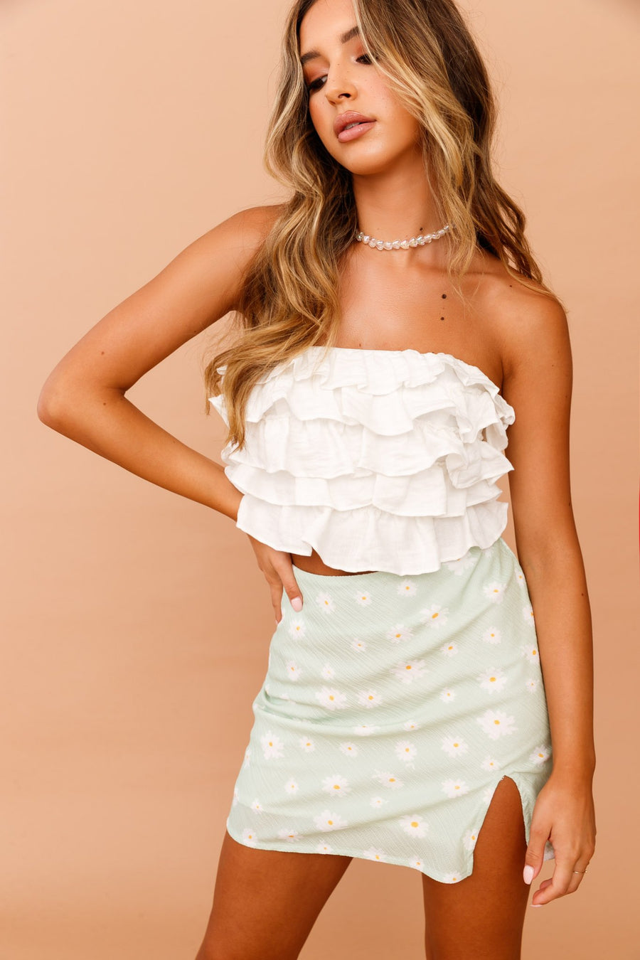 Ruffled Up Tube Top // White | Sage and Paige.?id=25072211427497
