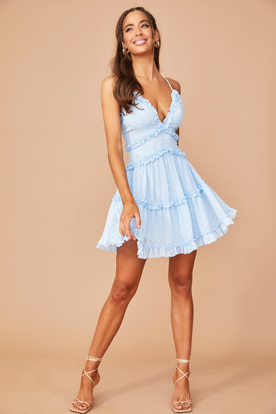 Top Tier Mini Dress // Baby Blue | Sage and Paige.?id=25173498888361