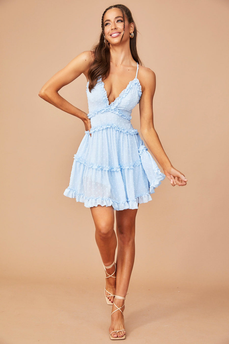 Top Tier Mini Dress // Baby Blue | Sage and Paige.?id=25173498822825