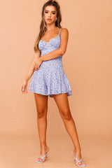 Rosey Outlook Mini Dress // Blue Print | Sage and Paige.?id=23930956742825