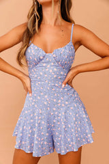 Rosey Outlook Mini Dress // Blue Print | Sage and Paige.?id=23930956611753