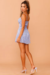 Rosey Outlook Mini Dress // Blue Print | Sage and Paige.?id=23930956677289