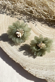 Orchid Haze Earrings // Sage