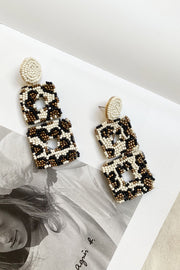 Square rare Drop Earrings