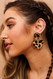 Safari Brown Earrings