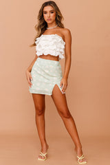 Daisy Daze Mini Skirt // Mint | Sage and Paige.?id=25069628850345