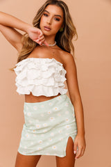Daisy Daze Mini Skirt // Mint | Sage and Paige.?id=25069626753193