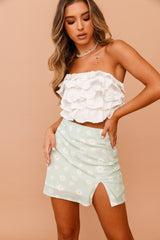 Daisy Daze Mini Skirt // Mint | Sage and Paige.?id=25069627244713