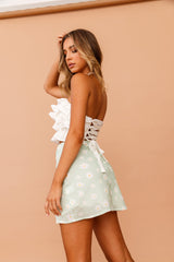 Daisy Daze Mini Skirt // Mint | Sage and Paige.?id=25069629210793