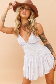 Morning Musk Romper // Lilac