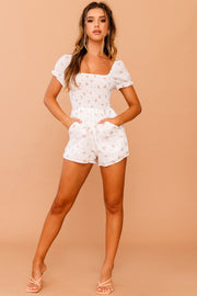 April Floral Playsuit // White | Sage and Paige.?id=25780387152041