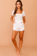 April Floral Playsuit // White | Sage and Paige.?id=25780386791593