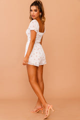 April Floral Playsuit // White | Sage and Paige.?id=25780386955433