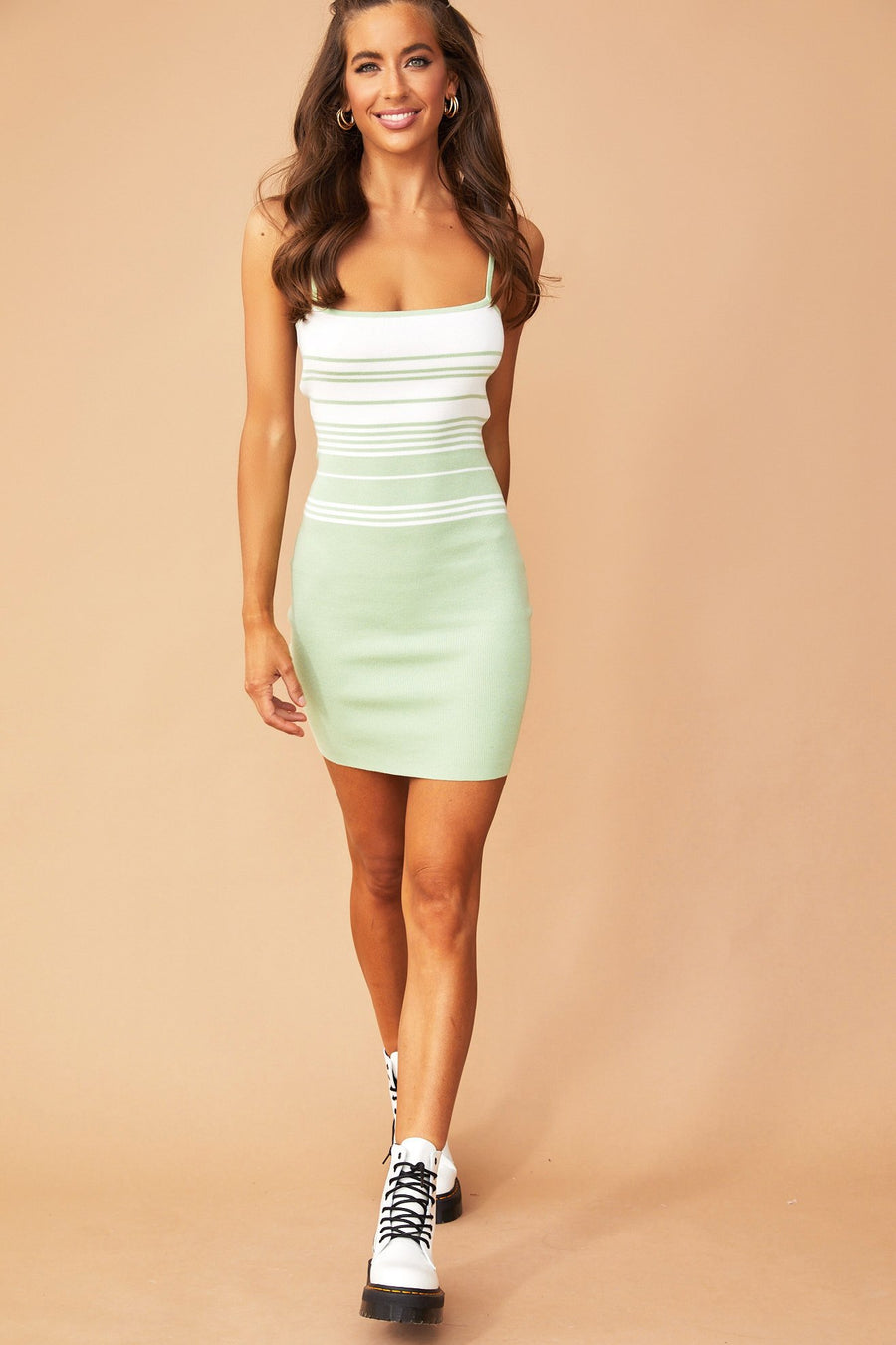 Monique Strap Dress // Lime | Sage and Paige.?id=25780540506281