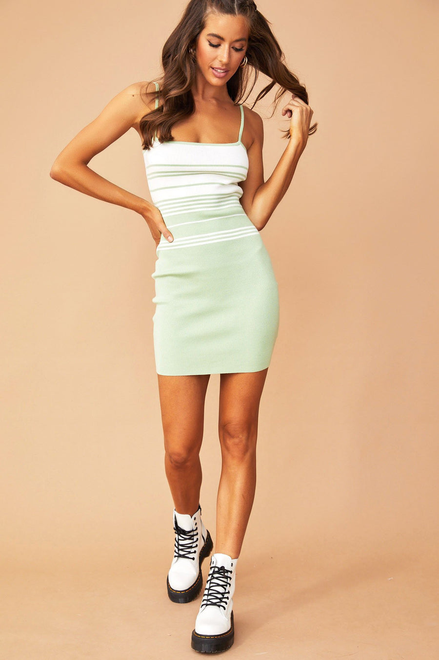 Monique Strap Dress // Lime | Sage and Paige.?id=25780540309673