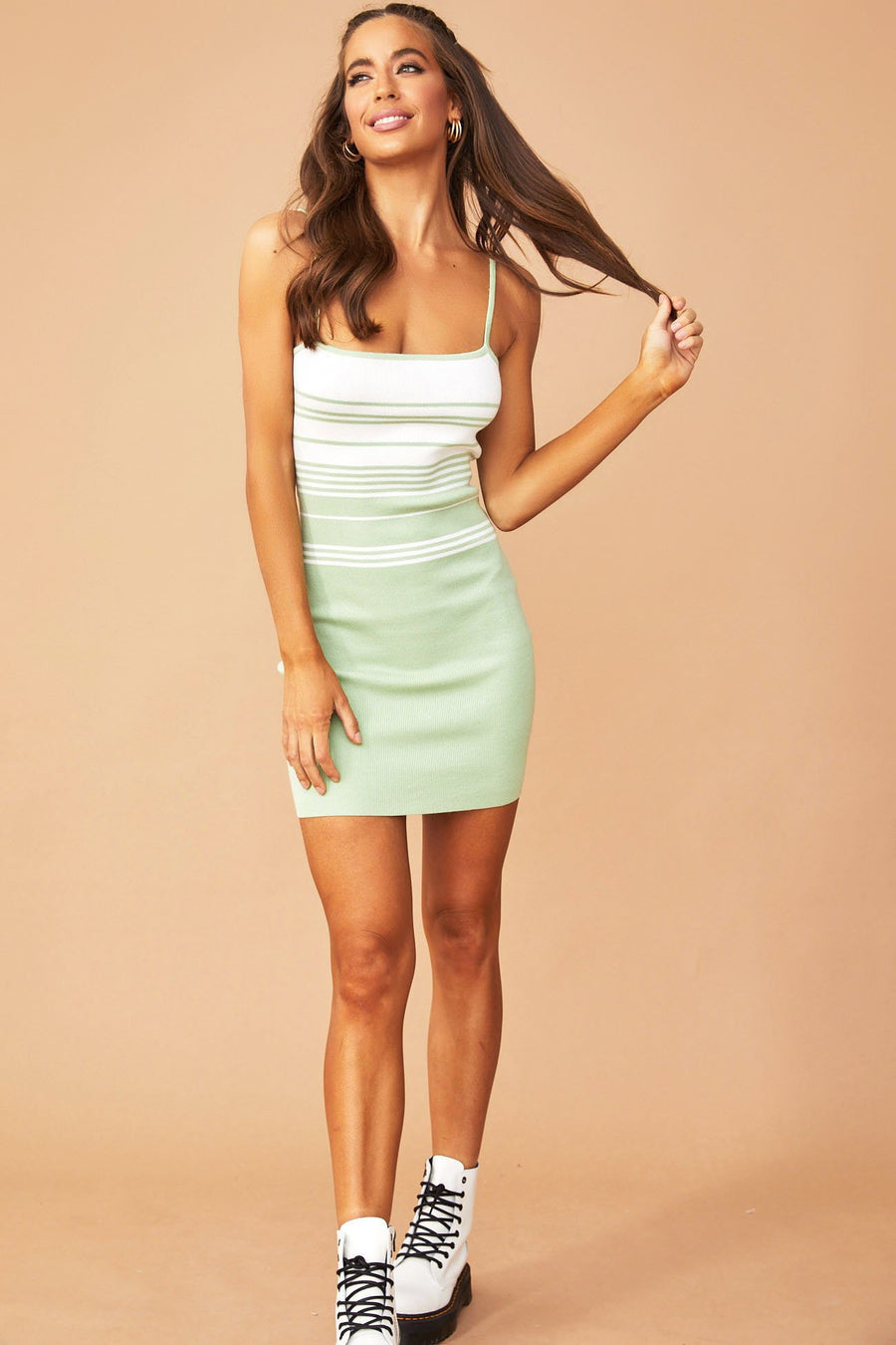 Monique Strap Dress // Lime | Sage and Paige.?id=25780540276905