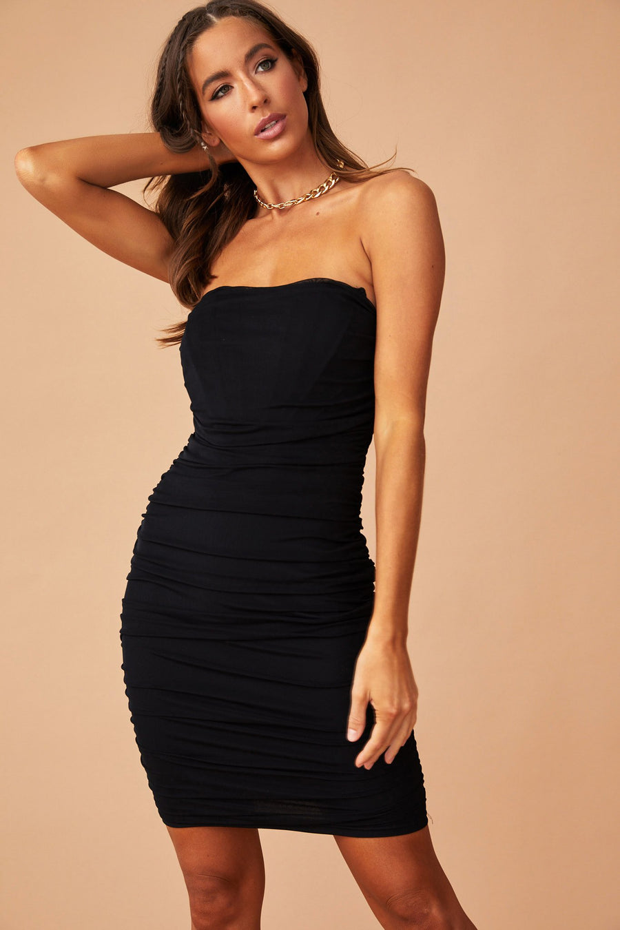 Fixated On You Dress // Black