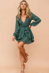 Sweet Scarlett Dress // Green