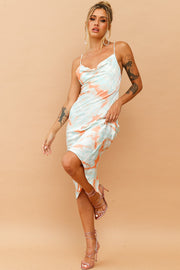 Byron Babe Dress // Orange Multi