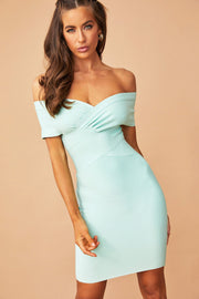 Lucid Bandage Dress // Mint