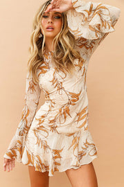 Lost in Seasons Dress // Beige