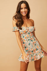 Be Your Girl Mini Dress // Green Orange | Sage and Paige.?id=29026403057833