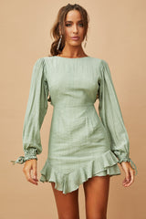 Lost Love Mini Dress // Sage