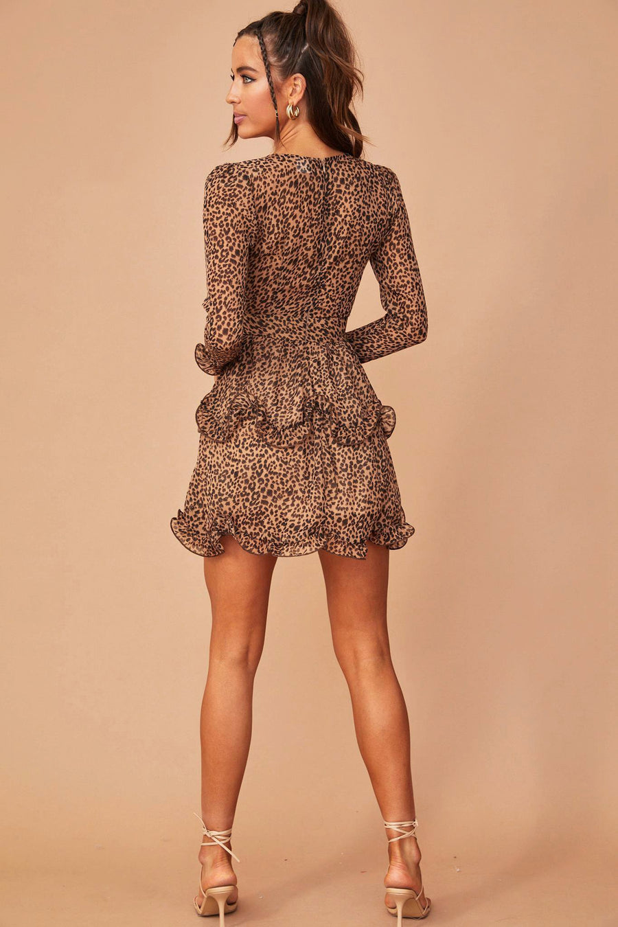 Beg For It Dress // Brown