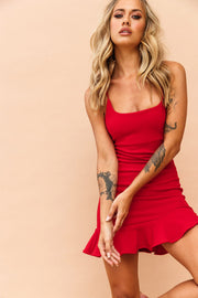 Been Around Rome Dress // Red