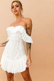 Venetian Summer Dress // White