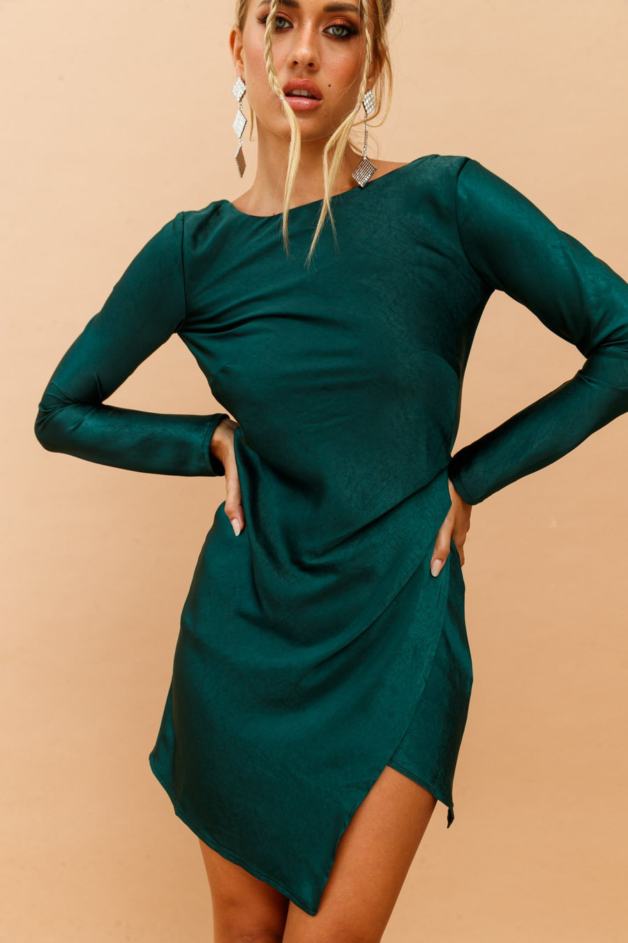 Mysterious Muse Dress // Forest Green