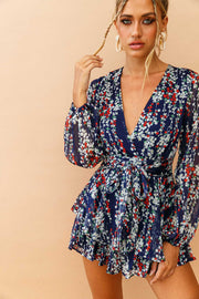 Verge Of Hope Romper // Navy