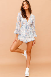 Verge Of Hope Romper // White