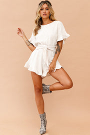 In A Daze Playsuit // Beige