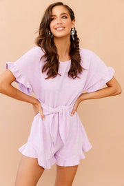 In A Daze Playsuit // Lilac