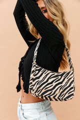 Wild Side Bag // Zebra