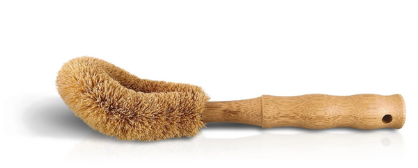 Coconut dish brush  -  .