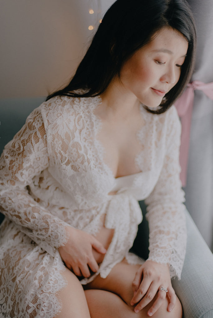 MATERNITY BOUDOIR X The Merrymaker | Bells & Birds