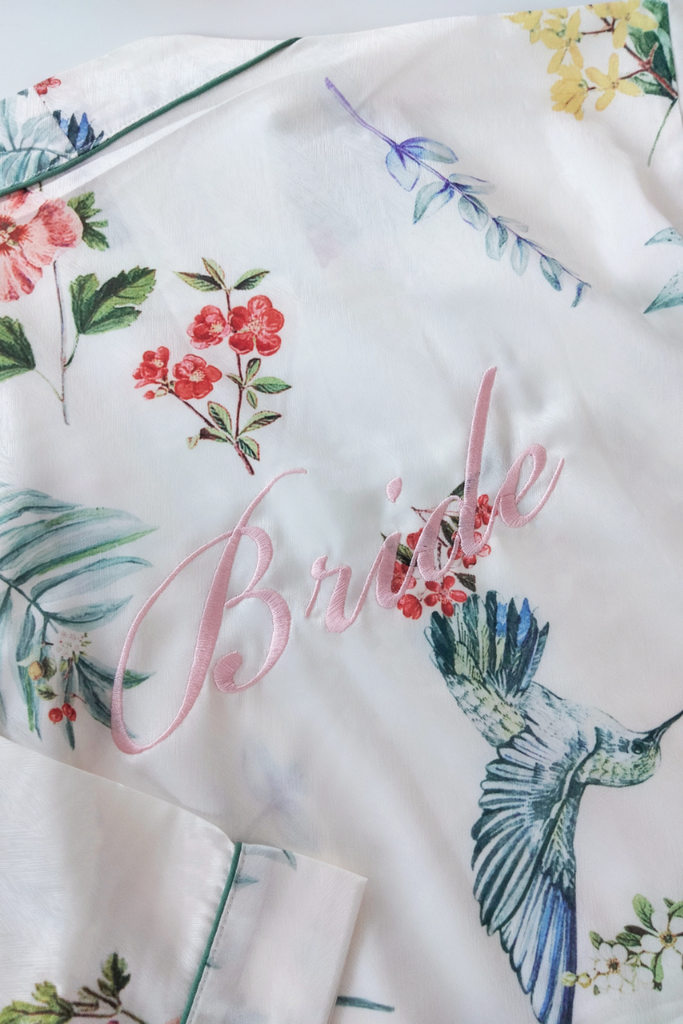 Paradiso Floral Robe