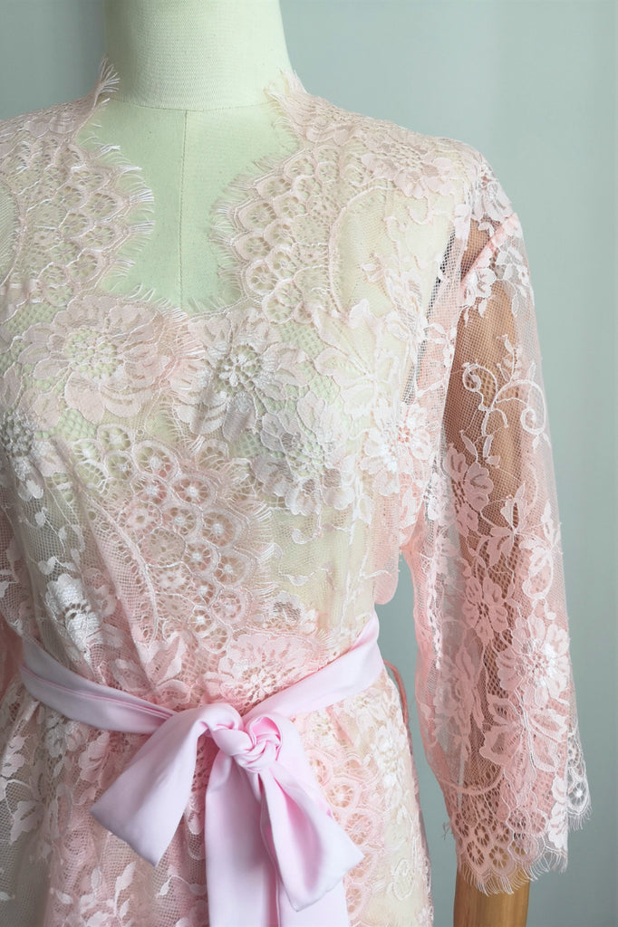 Ever After Lace Robe (Pink)