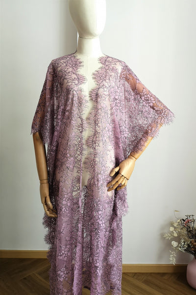Limited Lace Kaftan (Lilac)